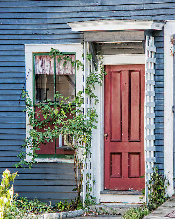 Suzanne Bauer Poster featuring the photograph Front Door Three by Suzanne Bauer Photography