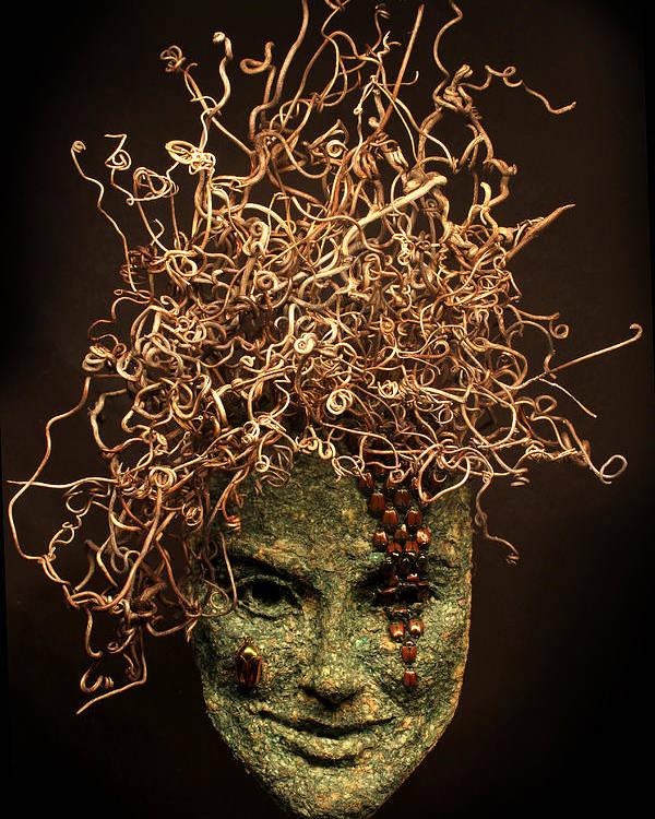 Art Poster featuring the sculpture Frou-frou by Adam Long