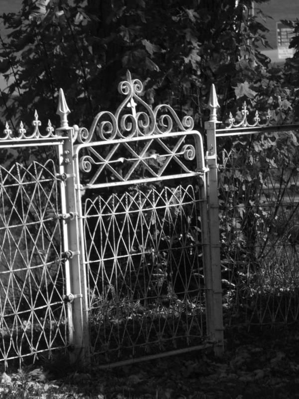 Garden Poster featuring the photograph Garden Gate by Michael L Kimble