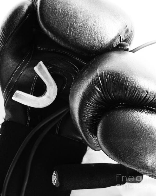 Boxing Poster featuring the photograph Gear by Ronnie Glover