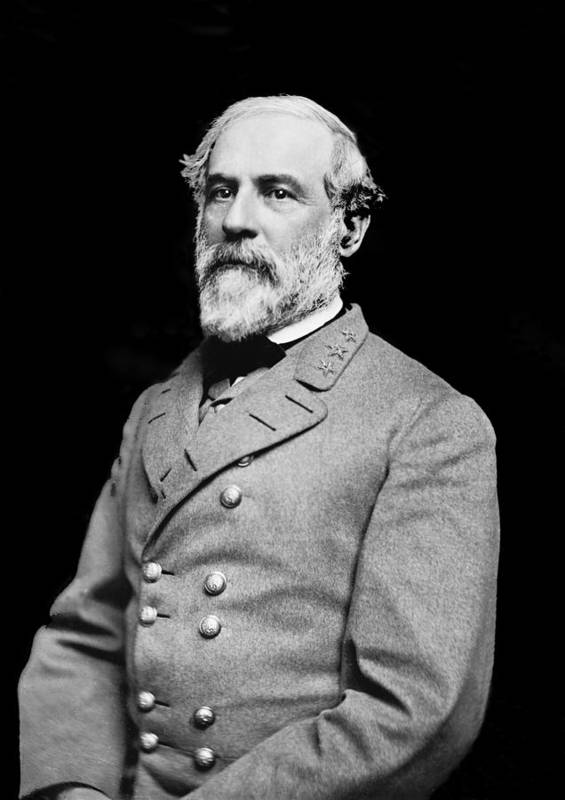 General Robert E Lee Poster featuring the photograph General Robert E Lee - Csa by Paul W Faust - Impressions of Light