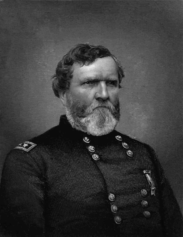 George Thomas Poster featuring the painting General Thomas by War Is Hell Store