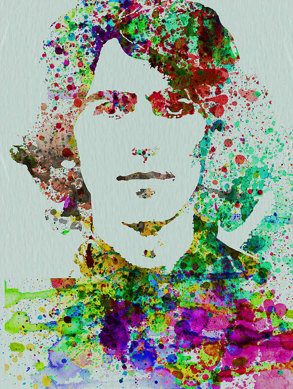 George Harrison Poster featuring the painting George Harrison by Naxart Studio