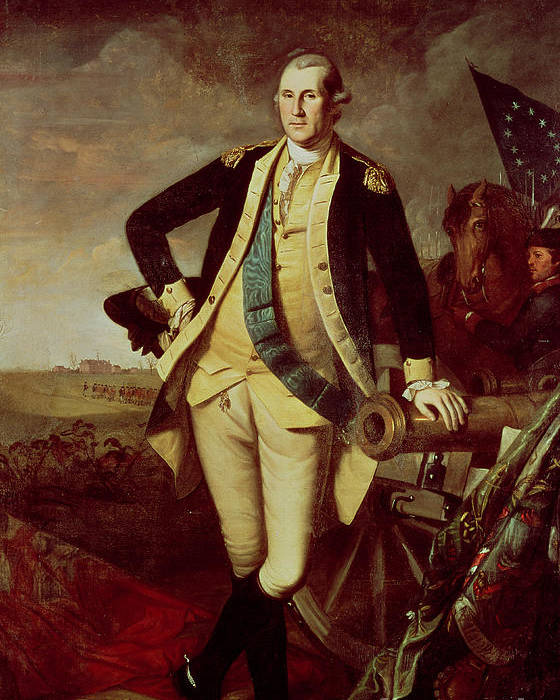 Bal28610 Poster featuring the painting George Washington At Princeton by Charles Willson Peale