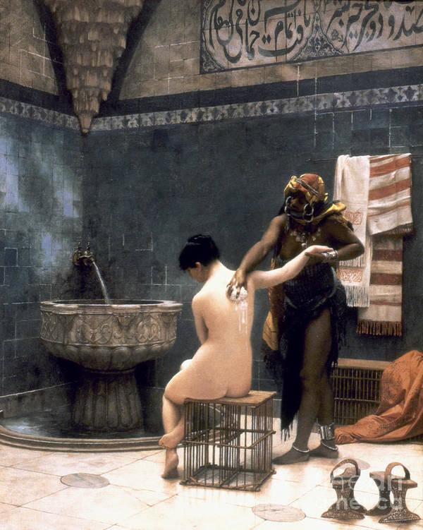 1880 Poster featuring the painting Gerome: The Bath, 1880 by Granger