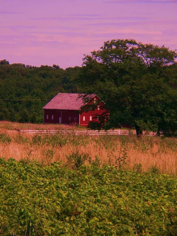 Gettysburg Poster featuring the photograph Gettysburg Barn by Eric Schiabor