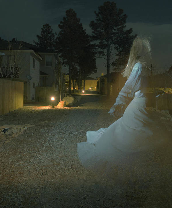 Ghost Poster featuring the photograph Ghost Dancer by Scott Sawyer