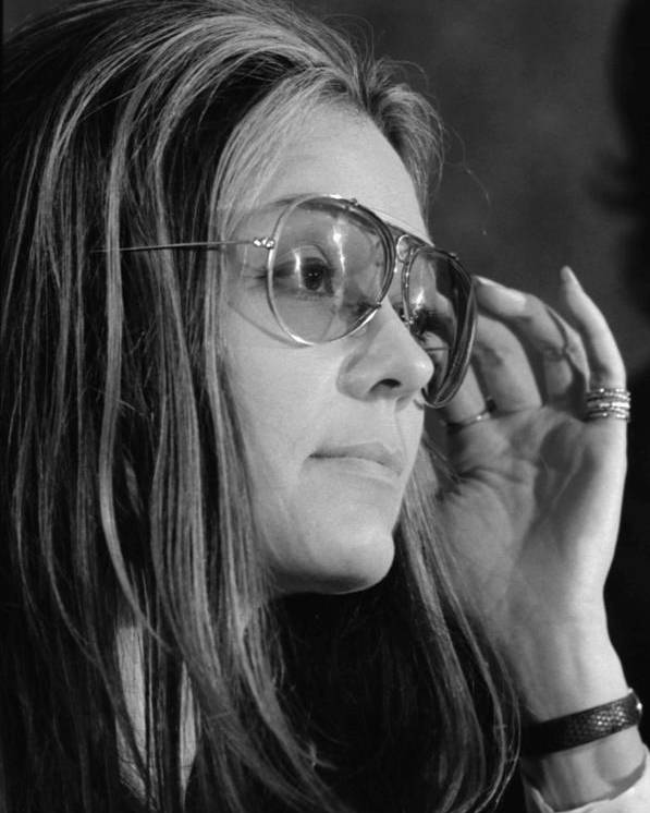 History Poster featuring the photograph Gloria Steinem B. 1934, Feminist by Everett