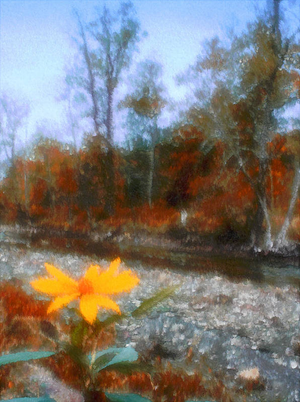 Autumn Poster featuring the photograph Goodbye Summer by Kenneth Krolikowski