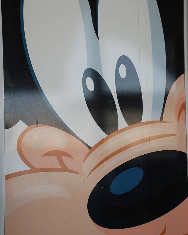 Disney Poster featuring the photograph Goofy by Rob Hans