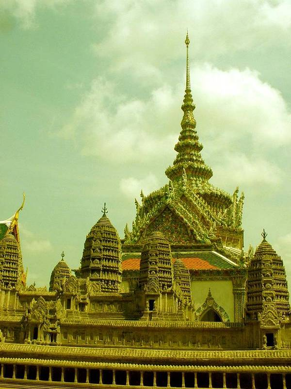 Grand Palace Poster featuring the photograph Grand Palace by Jennifer Ott