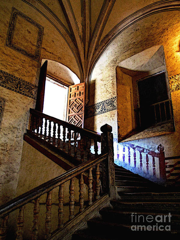 Darian Day Poster featuring the photograph Grand Staircase 2 by Mexicolors Art Photography