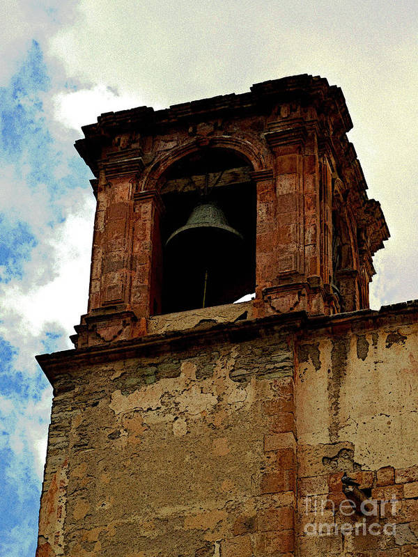 Darian Day Poster featuring the photograph Guanajuato Bell Tower by Mexicolors Art Photography