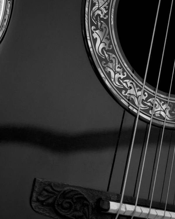 Photography Poster featuring the photograph Guitar2 by Shawna Moore