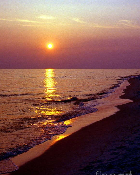 Florida Poster featuring the photograph Gulf Of Mexico Sunset by Thomas R Fletcher