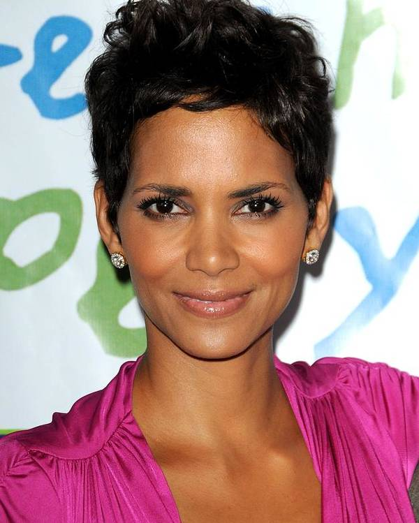 Halle Berry Poster featuring the photograph Halle Berry At Arrivals For Silver Rose by Everett
