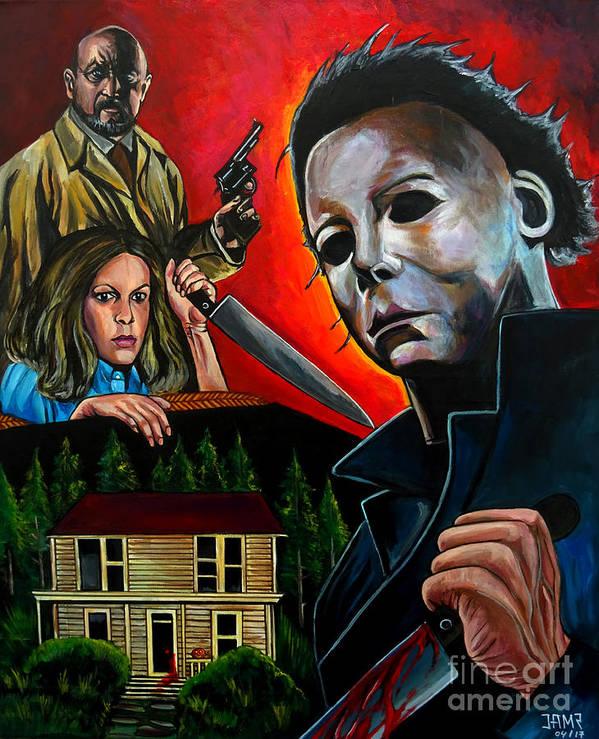 Halloween Poster Art.Halloween 1978 Poster