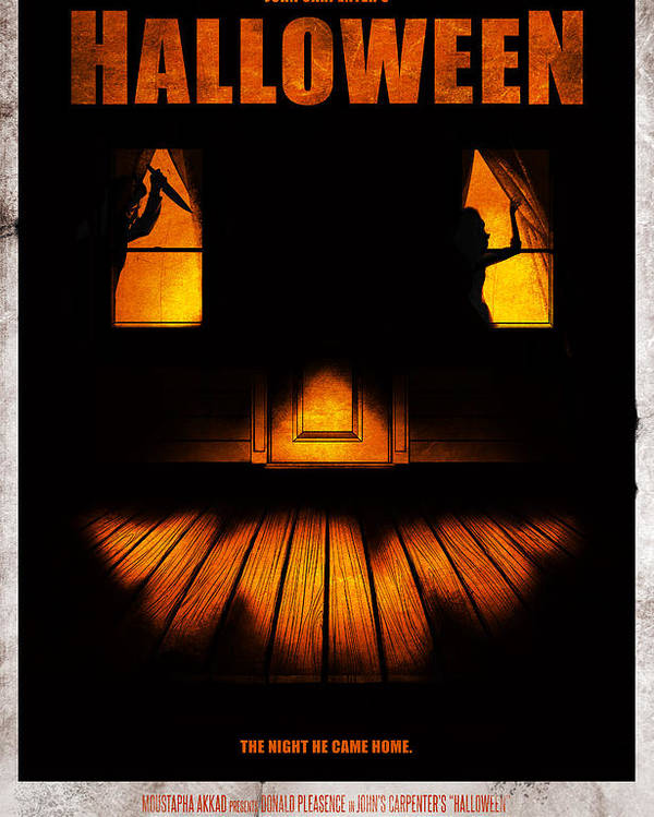 Halloween Alternative Movie Poster Poster By Christopher Ables