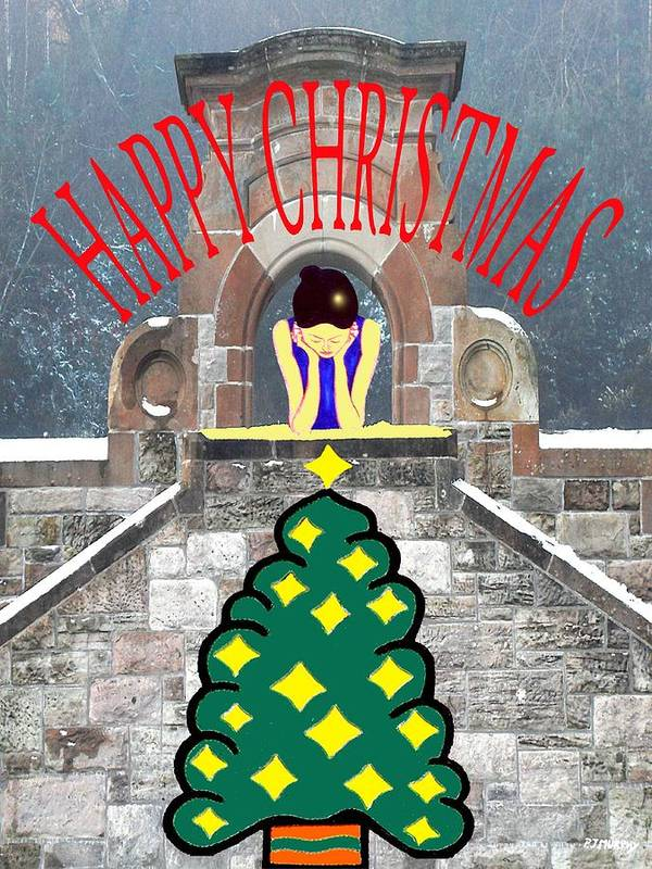 Christmas Poster featuring the photograph Happy Christmas 31 by Patrick J Murphy