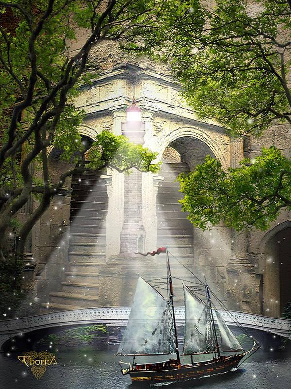 Digital Art Poster featuring the digital art Havens by Greg Piszko