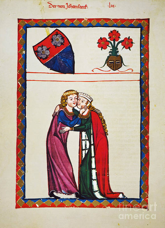 14th Century Poster featuring the photograph Heidelberg Lieder, 14th C by Granger