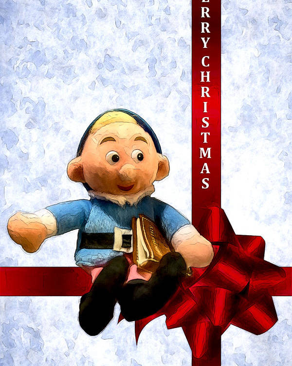 Christmas Dentist Elf.Hermey The Dentist Elf Poster