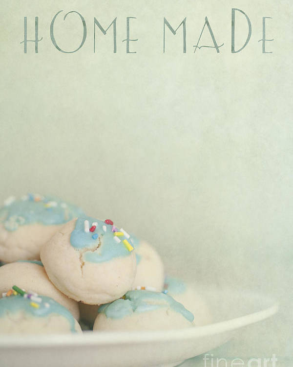 Cookies Poster featuring the photograph Home Made Cookies by Priska Wettstein