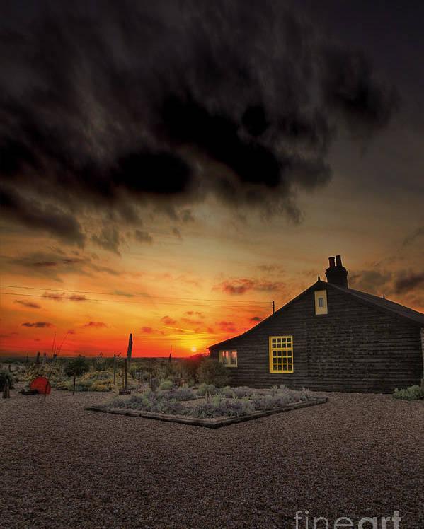 Derek Jarman Poster featuring the photograph Home To Derek Jarman by Lee-Anne Rafferty-Evans