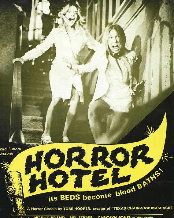 1960 Movies Poster featuring the photograph Horror Hotel, Aka City Of The Dead by Everett