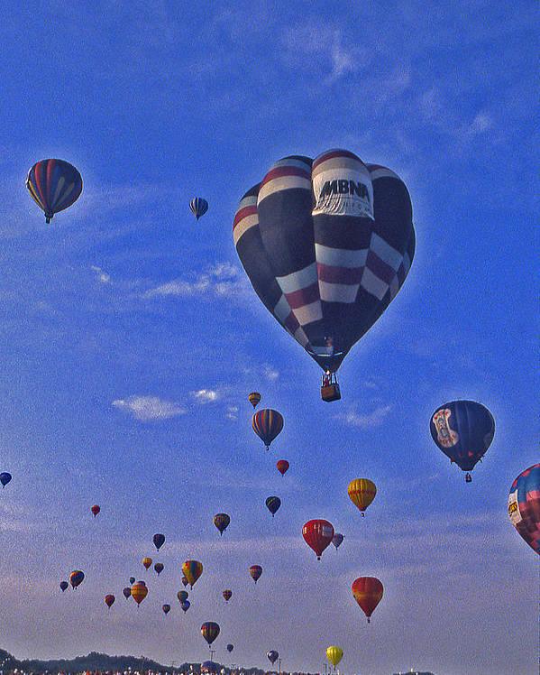 Hot Air Balloon Poster featuring the photograph Hot Air Balloon - 14 by Randy Muir