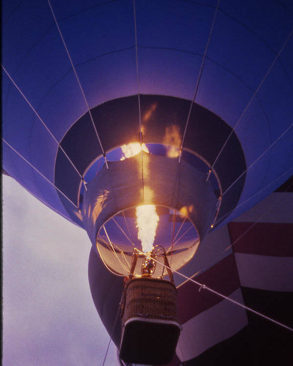 Tennessee Poster featuring the photograph Hot Air Balloon - 2 by Randy Muir