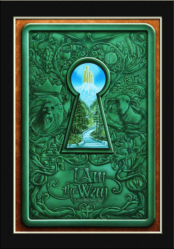Inspirations Poster featuring the painting I Am The Way by Cliff Hawley