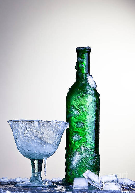 Alcohol Poster featuring the photograph Ice Cold Drink by Dirk Ercken
