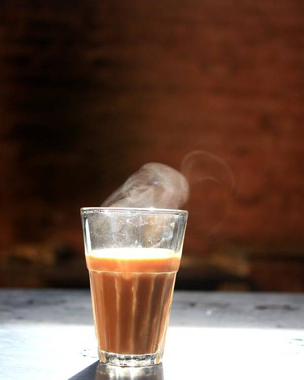 Tea Poster Featuring The Photograph Indian Chai By Necia Nash