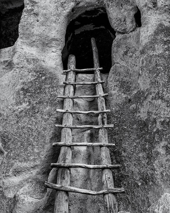 Bandelier National Monument Poster featuring the photograph Into The Alcove by Gary Lengyel