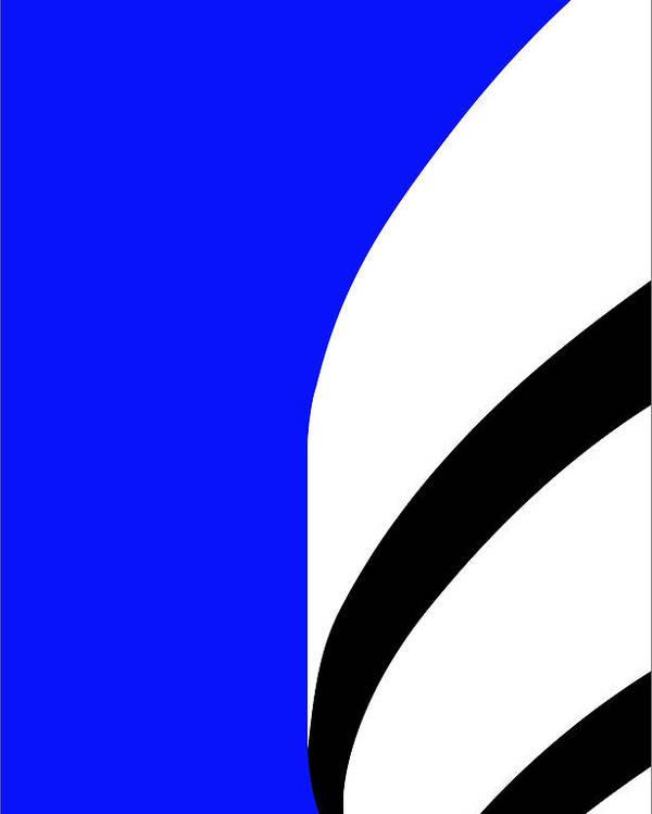 Guggenheim Poster featuring the digital art Is It Guggenheim by Asbjorn Lonvig