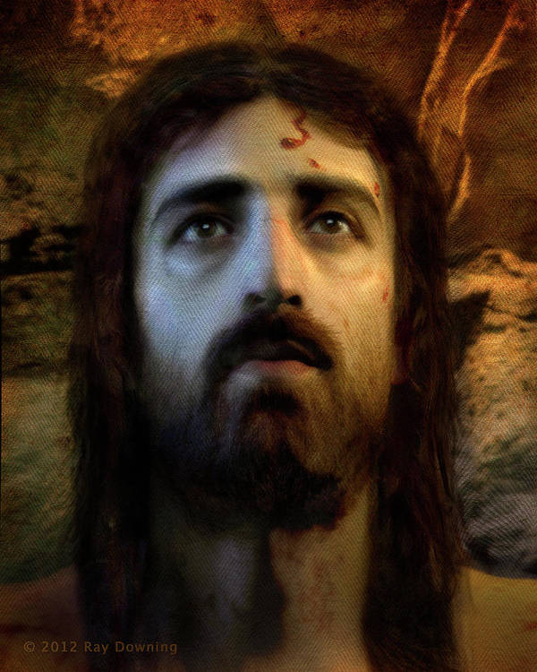 Jesus Poster featuring the digital art Jesus Alive Again by Ray Downing