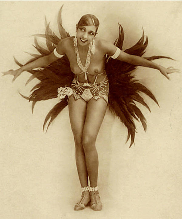 Josephine Baker Poster By Stanislaus Walery