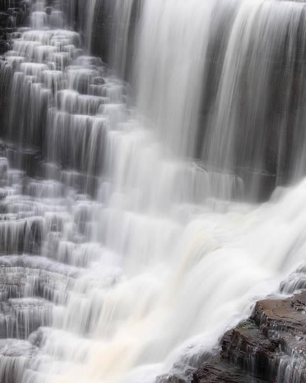 Kakabeka Poster featuring the photograph Kakabeka Falls by Nicholas Miller