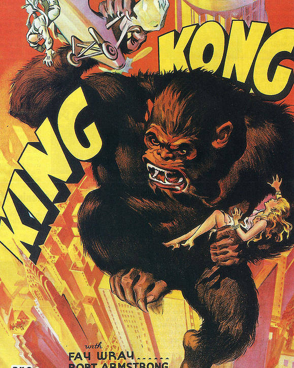 King Kong Poster featuring the photograph King Kong by Georgia Fowler