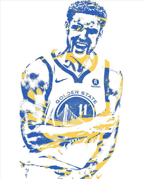 wholesale dealer ccd7a 13574 Klay Thompson Golden State Warriors Pixel Art 25 Poster