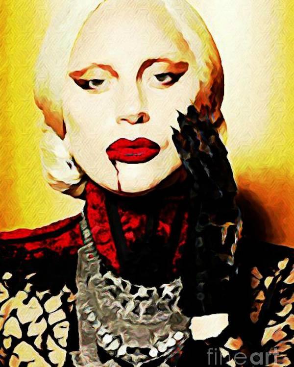 American Horror Story Lady Gaga Poster