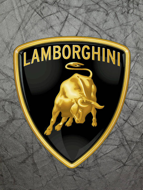 Lamborghini Logo Poster By Daniel Hagerman