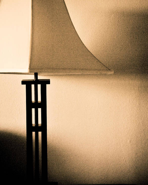 Lamp Poster featuring the photograph Lamp by Roberto Bravo