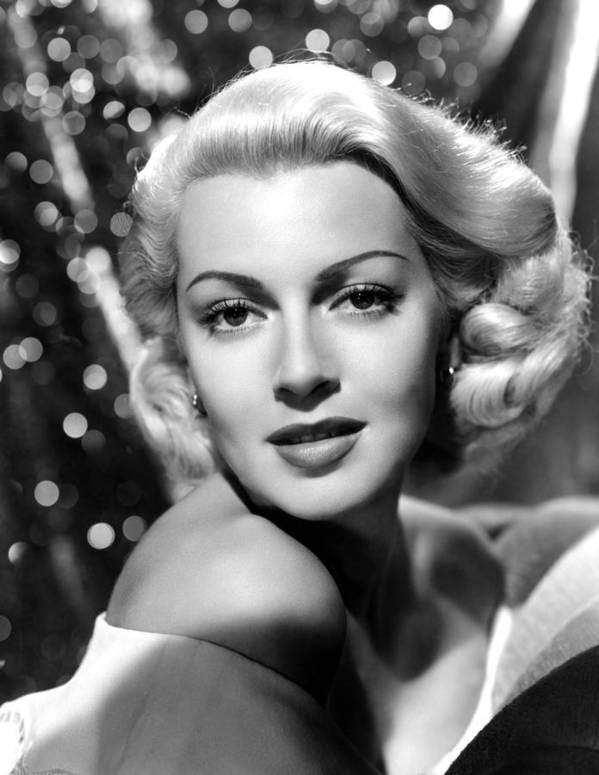 1940s Portraits Poster featuring the photograph Lana Turner, Mgm, 1941 by Everett