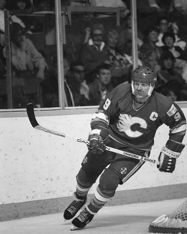 Steve Tobus Poster featuring the photograph Lanny Mcdonald by Steve Tobus