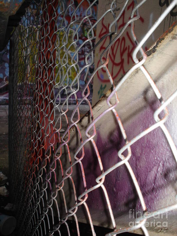 Urban Art Poster featuring the photograph Layers Of Urbanity by Chandelle Hazen