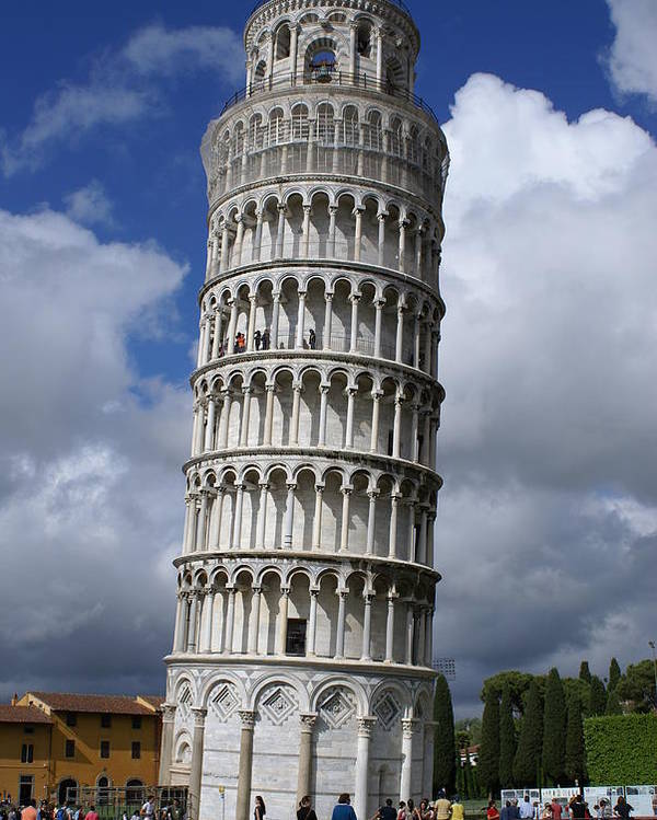Italy Poster featuring the photograph Leaning Tower Of Pisa by Tracy Dugas