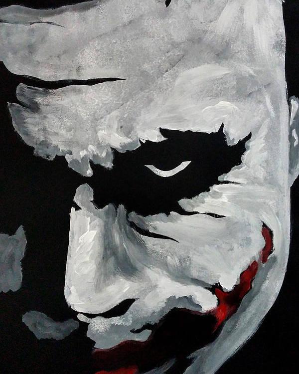 Ledger S Joker Poster