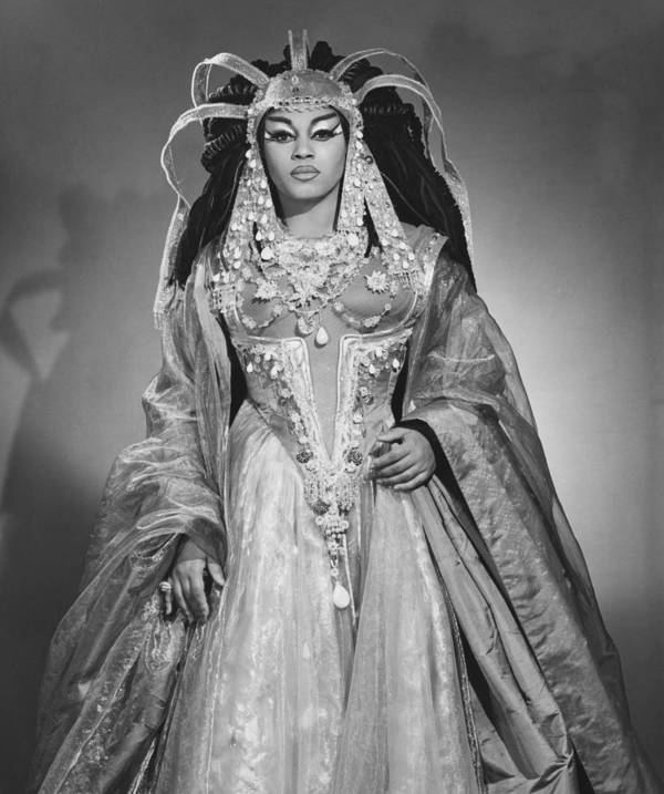 History Poster featuring the photograph Leontyne Price B. 1927, As Cleopatra by Everett
